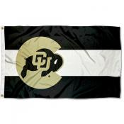 Colorado CU Buffaloes Colorado State Designed Flag