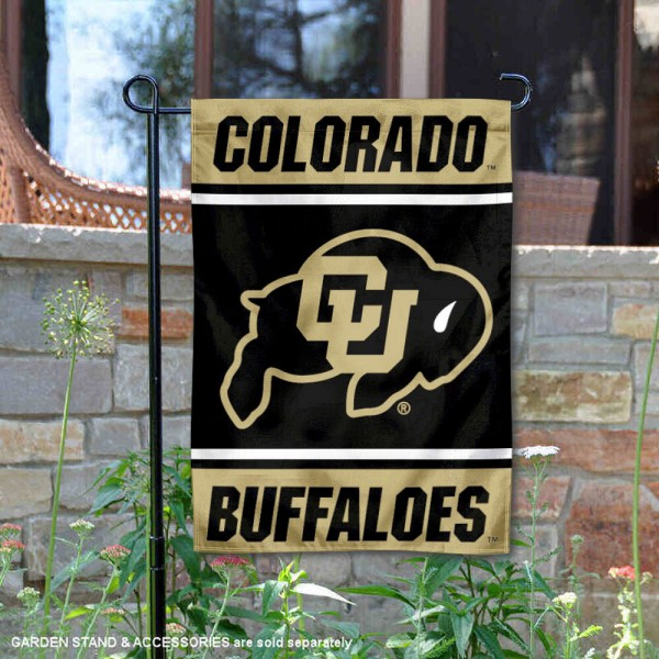 Colorado CU Buffaloes Garden Flag
