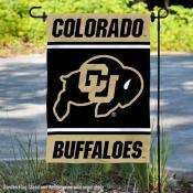 Colorado CU Buffaloes Garden Flag