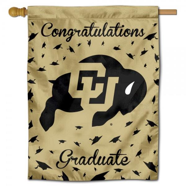 Colorado CU Buffaloes Graduation Banner