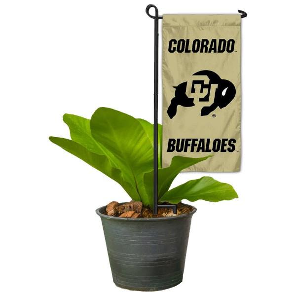 Colorado CU Buffaloes Mini Garden Flag and Table Topper