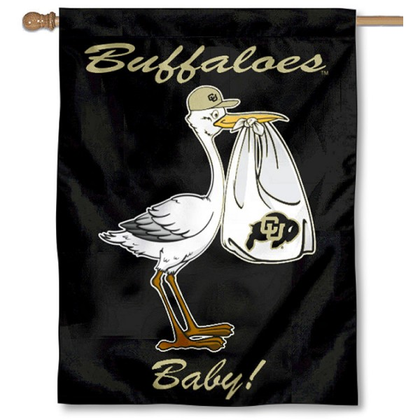 Colorado CU Buffaloes New Baby Banner