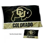Colorado CU Buffaloes Two Sided 3x5 Foot Flag