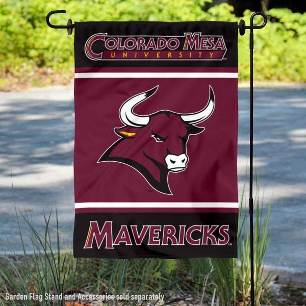 Colorado Mesa University Mavericks Garden Flag
