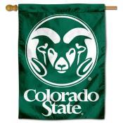 Colorado State Rams House Flag