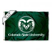 Colorado State Rams Mini Flag