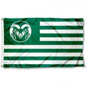 Colorado State Rams Nation Flag
