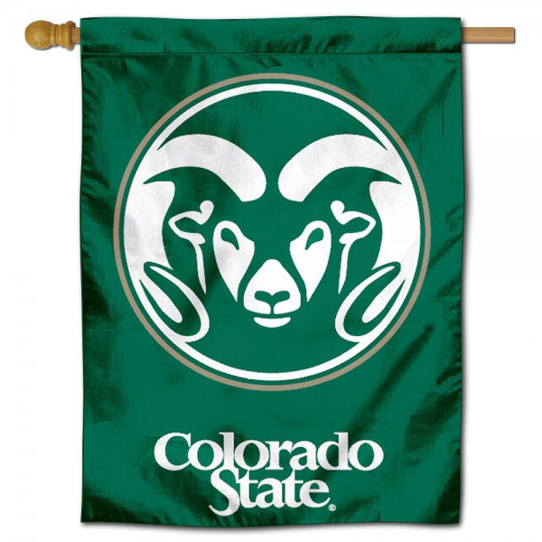 Colorado State Rams Polyester House Flag