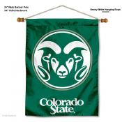 Colorado State Rams Wall Hanging