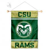 Colorado State Rams Window Hanging Banner with Suction Cup