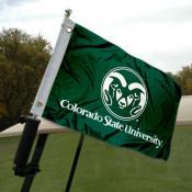 Colorado State University Golf Cart Flag