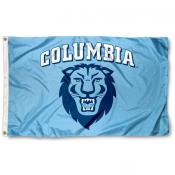 Columbia Lions Athletic Insignia 3x5 Foot Flag