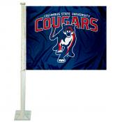 Columbus State Cougars Car Flag