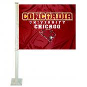 Concordia Cougars Car Flag