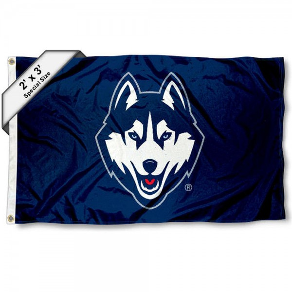 Connecticut Huskies 2x3 Flag
