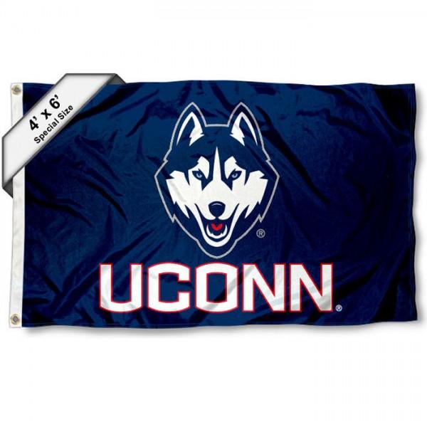Connecticut Huskies UCONN 4'x6' Flag