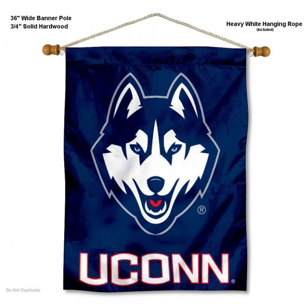 Connecticut Huskies Wall Hanging