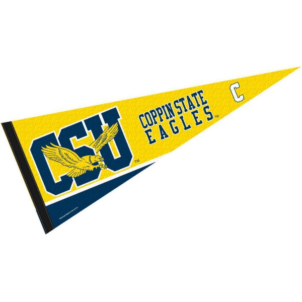 Coppin State CSU Eagles Pennant
