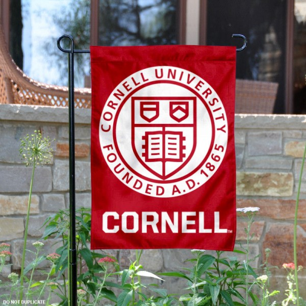 Cornell Big Red Academic Insignia Garden Flag