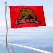 Cornell Big Red Boat Nautical Flag