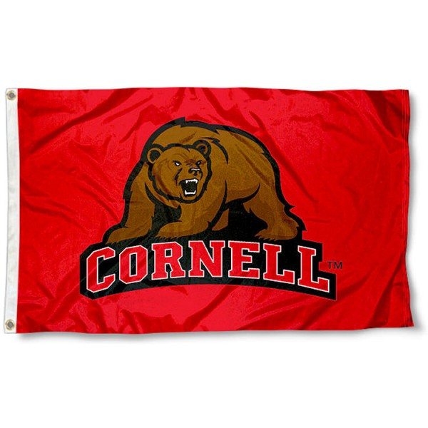 Cornell University Big Red Flag
