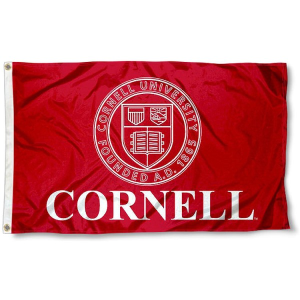 Cornell University Insignia Seal Flag