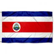 Costa Rica Country 3x5 Polyester Flag
