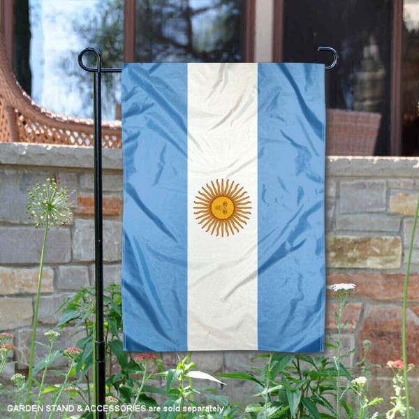 Country of Argentina Double Sided Garden Banner