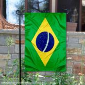 Country of Brazil Double Sided Garden Banner