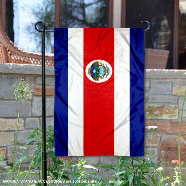 Country of Costa Rica Double Sided Garden Banner