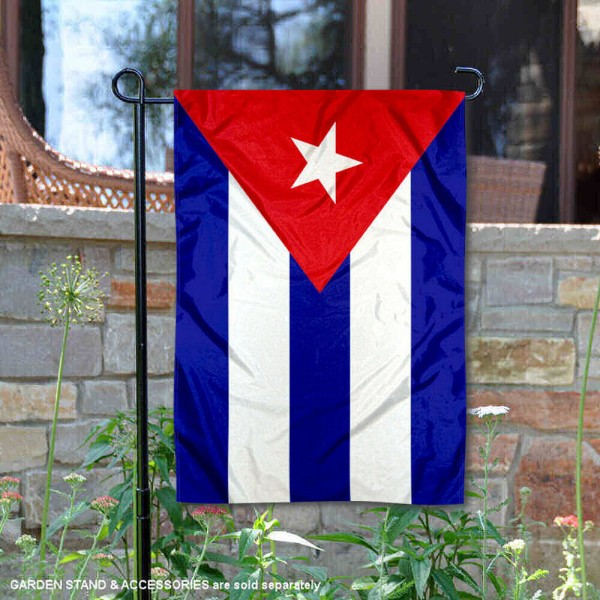 Country of Cuba Double Sided Garden Banner