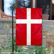 Country of Denmark Double Sided Garden Banner