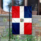Country of Dominican Republic Double Sided Garden Banner