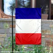 Country of France Double Sided Garden Banner