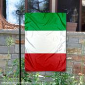 Country of Italy Double Sided Garden Banner