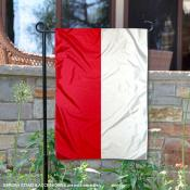 Country of Poland Double Sided Garden Banner