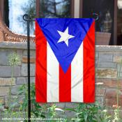 Country of Puerto Rico Double Sided Garden Banner