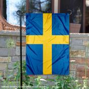 Country of Sweden Double Sided Garden Banner