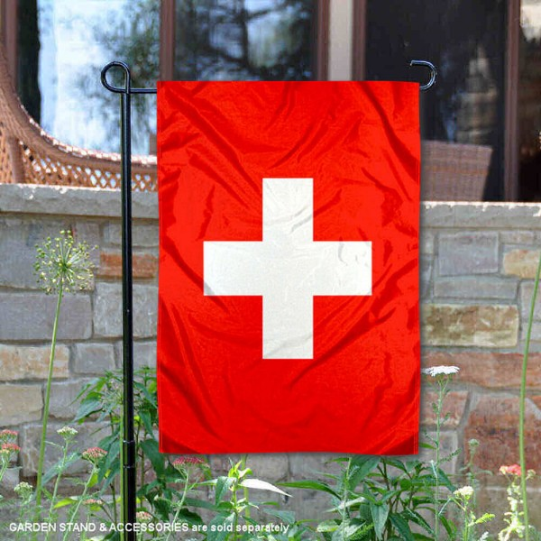 Country of Switzerland Double Sided Garden Banner