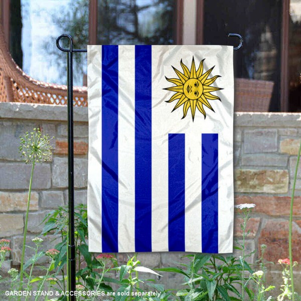 Country of Uruguay Double Sided Garden Banner