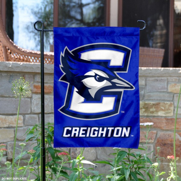Creighton Bluejays Garden Flag