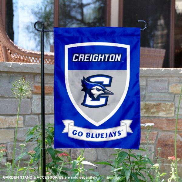 Creighton Bluejays Shield Garden Banner