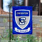 Creighton Bluejays Shield Garden Banner