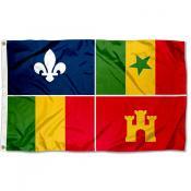 Creoles 3x5 Foot Flag
