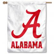 Crimson Tide House Flag