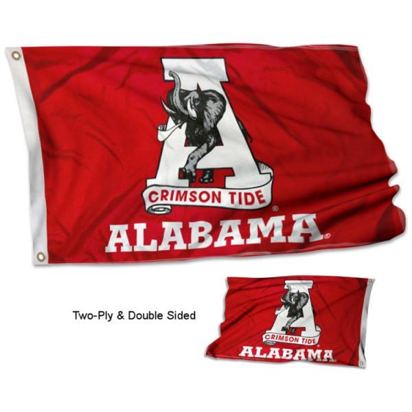 Crimson Tide Vintage Flag