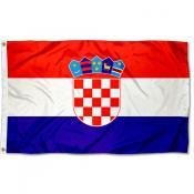Croatia Country 3x5 Polyester Flag