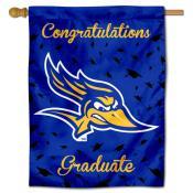 CSBU Road Runners Graduation Banner