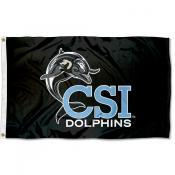CSI Dolphins Banner Flag