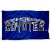 CSN Coyotes Wordmark Logo Flag